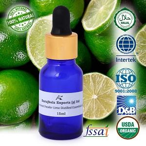 Ancient healer Lime oil 15 ml - essential oil