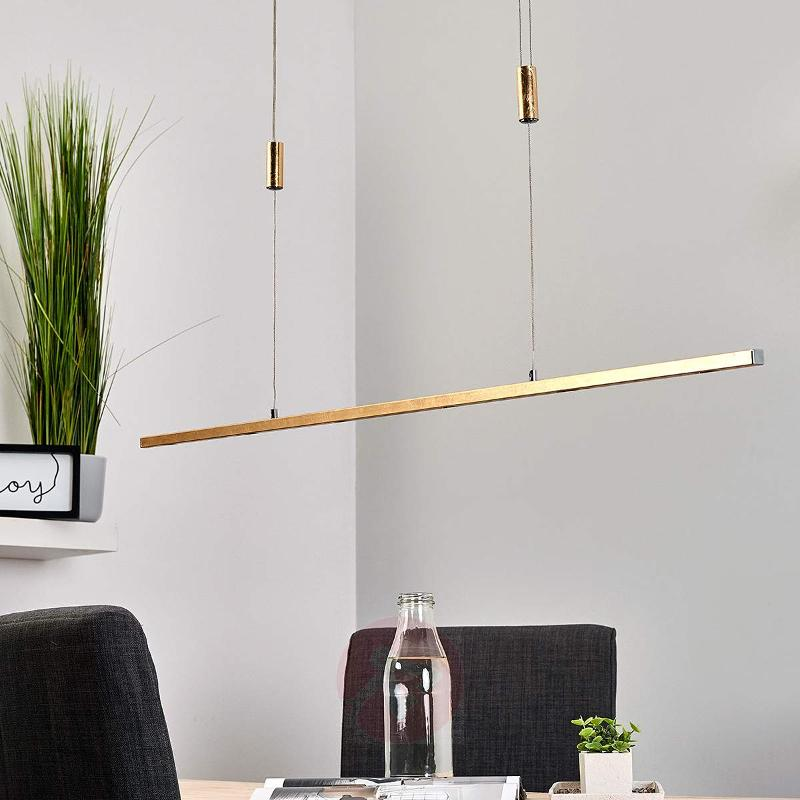 Height adjustable LED pendant light Tolu - Pendant Lighting