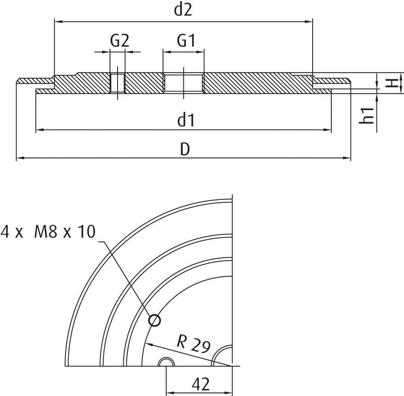 Trägerplatten SZ-NIP-T - null