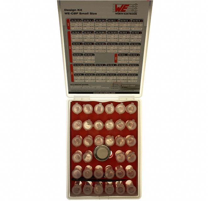 KIT FERRITE SMD 0402-0805 SIZES - Wurth Electronics Inc. 742790