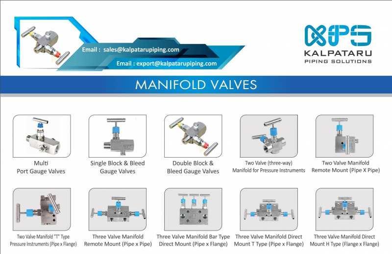 SMO 254  Manifold Valves - SMO 254 Multi - Port Gauge Valves - SMO 254 Single Block & Bleed Gauge Valves