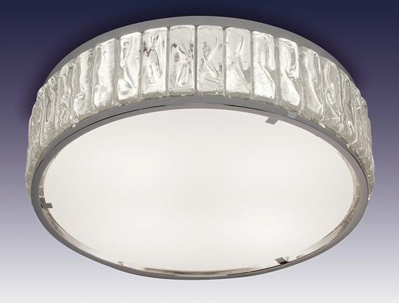 Потолочный светильник бронзовый и хрустальный - Модель 2058A