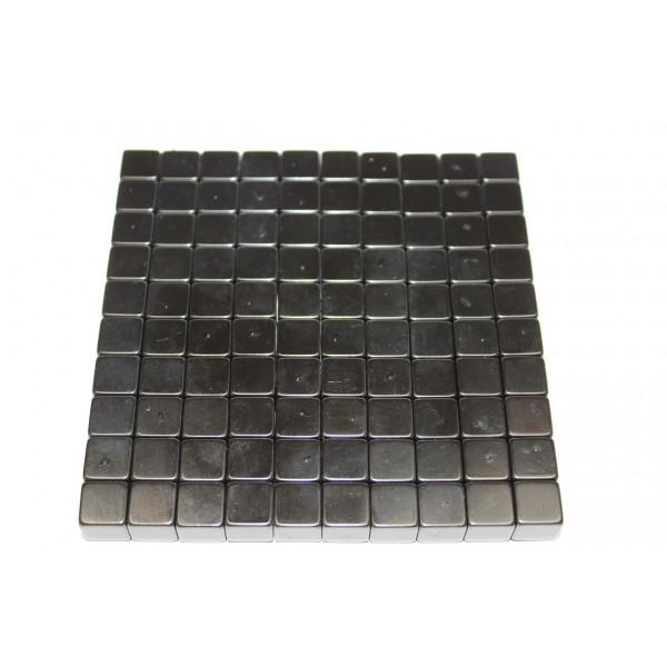 Cube magnet 10mm, Neodymium, N42, Ni-Cu-Ni-Ep, Epoxy... - null