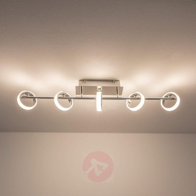 Luciano LED ceiling light with light rings - Ceiling Lights