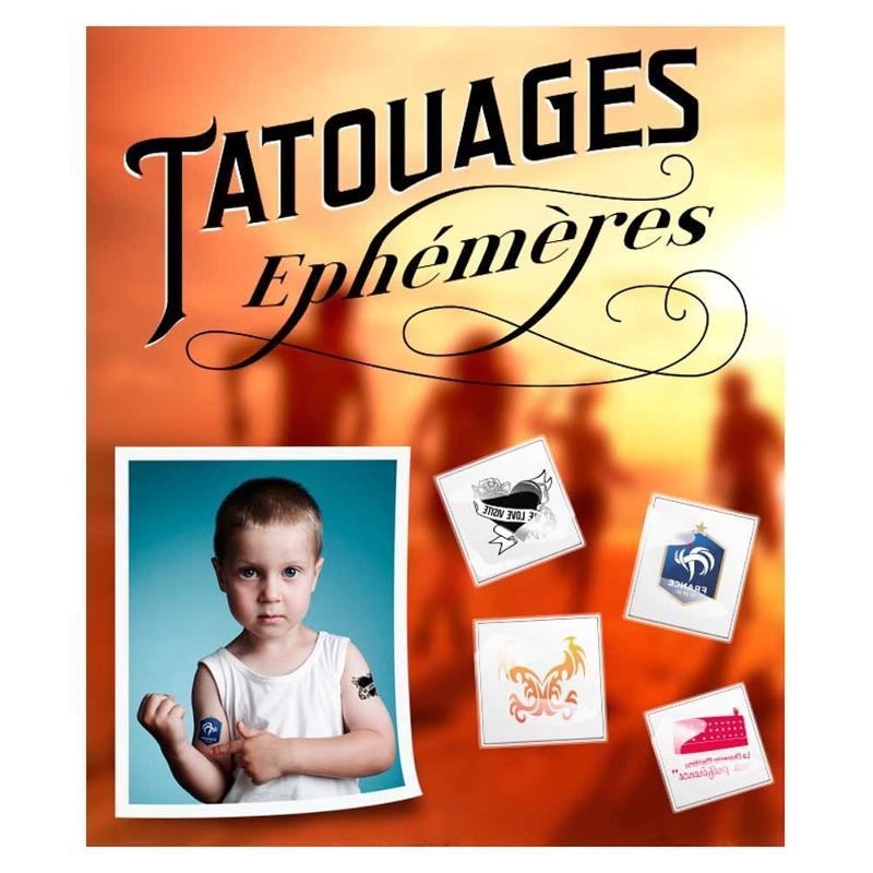 Tatouage éphémère - Articles supporters