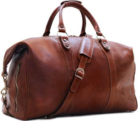 Leather Travel Bags  -