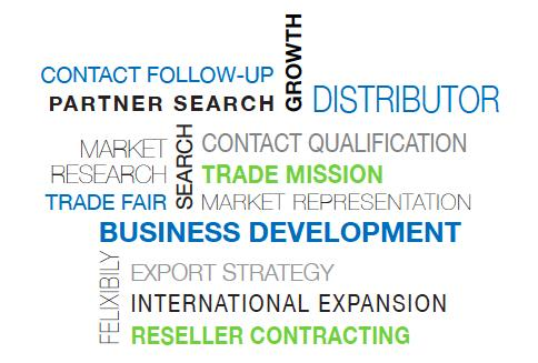 BUSINESS DEVELOPMENT  - internationalisation - market research - export start up