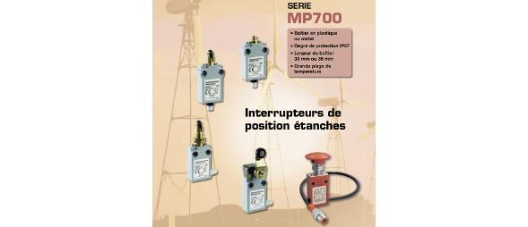 Limit switches - MP700 range of products