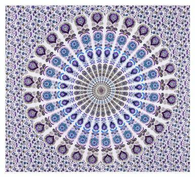 Mandala Indian Tapestry Hippie Bedspread Cotton Wall Hanging