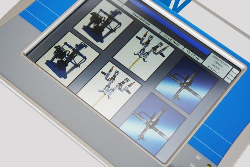 ViscoDos-4000-2K Touch | Pumpensteuerung - Microprozessor-Steuerung mit Display