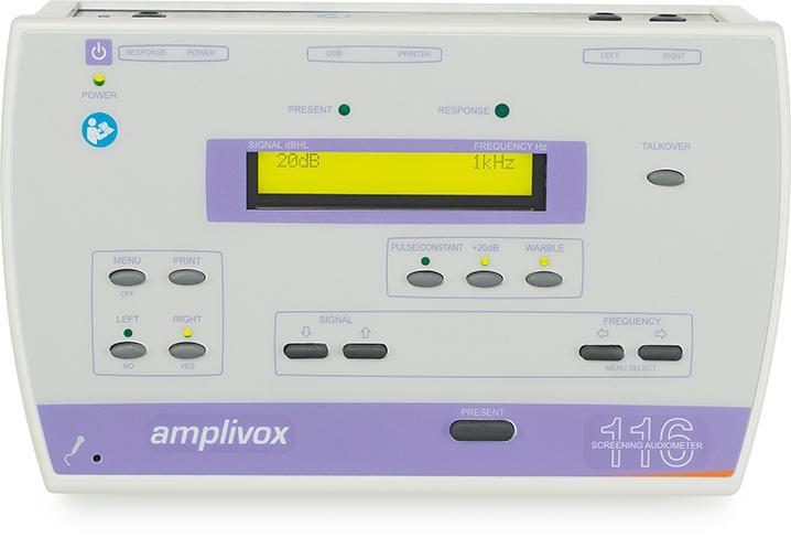 Amplivox 116 audiometer