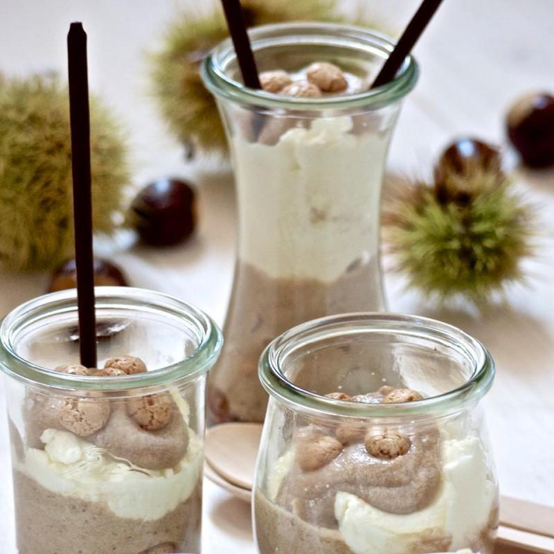 6 vasi WECK Bobine® 200 ml  - con coperchi in vetro e guarnizioni (graffe non incluse)