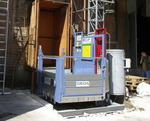 GEDA 1200 Z/ZP - GEDA 1200 Z/ZP -  Transport Platform for Personnel and Materials