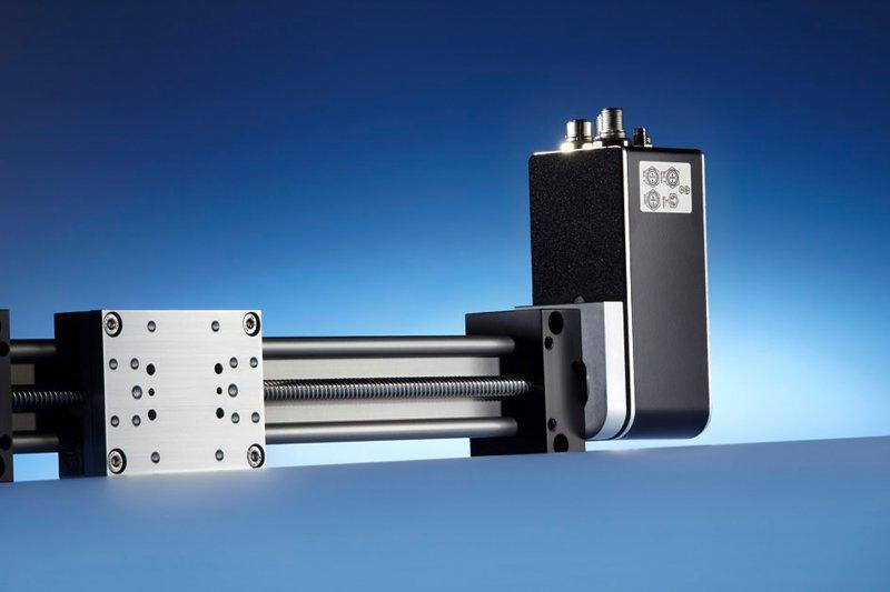 Positionierantrieb PSE 30_-8 - Positioniersystem zur automatischen Formatverstellung in Maschinen