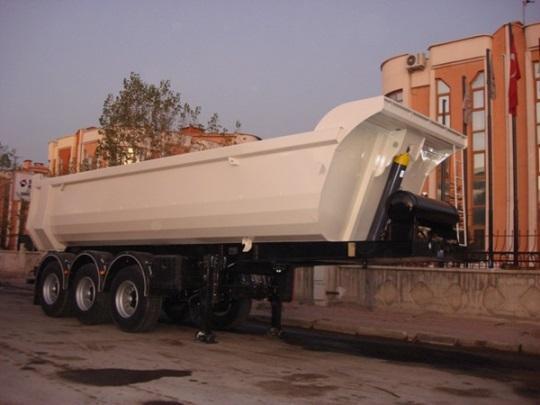 Dumper Tipper Semitrailer