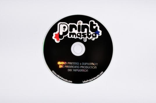 CD/DVD/BD on body printing