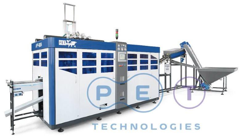 Automatic stretch blow molding machine APF - 6004