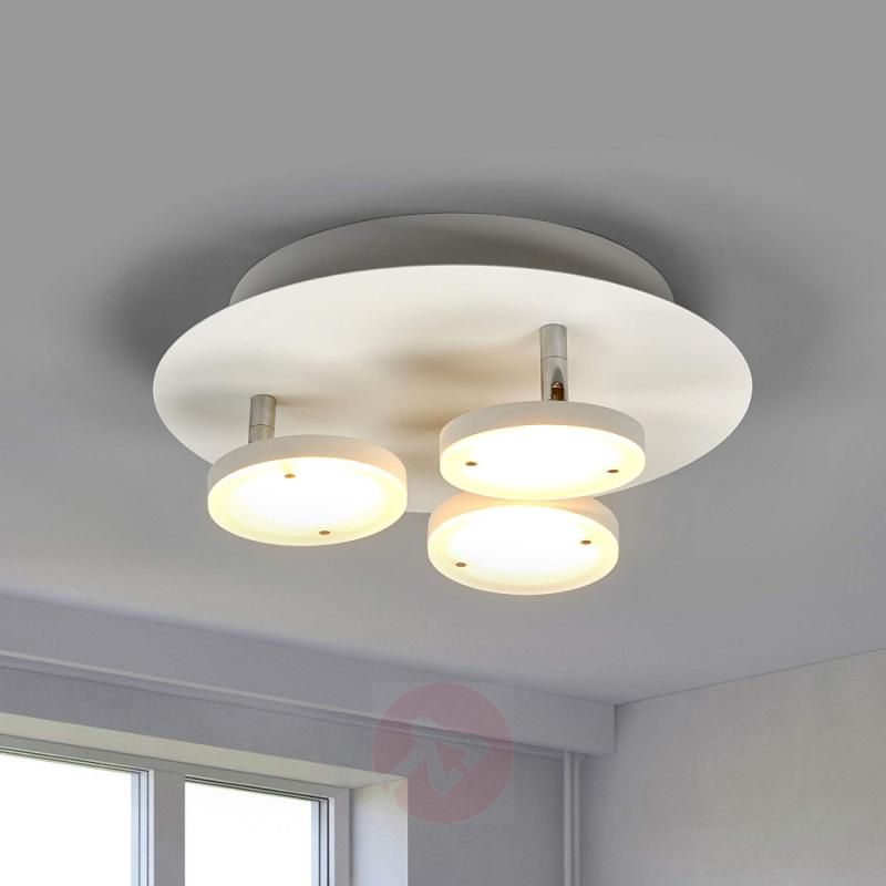 3-bulb LED ceiling lamp Tina - made in Germany - indoor-lighting