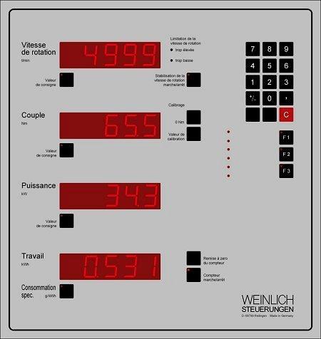 Ordinateur MP  - Technique de commande et de mesure pour bancs d'essai moteurs