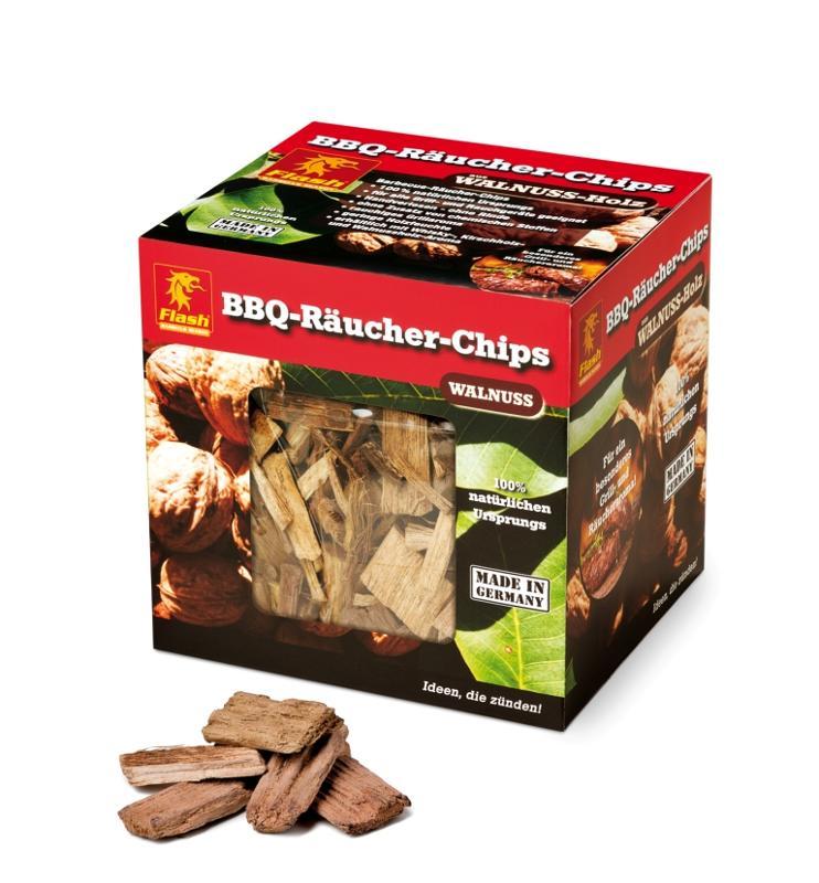 FLASH Räucher-Chips Walnuss 600 g - null