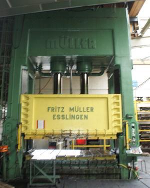 Pliage acier et inox - Par presses hydrauliques