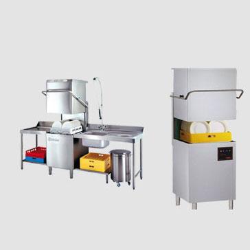Haubenspülmaschinen / Durchschubspülmaschinen Gastronomie