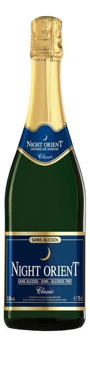 Night Orient Classic - vin pétillant sans alcool