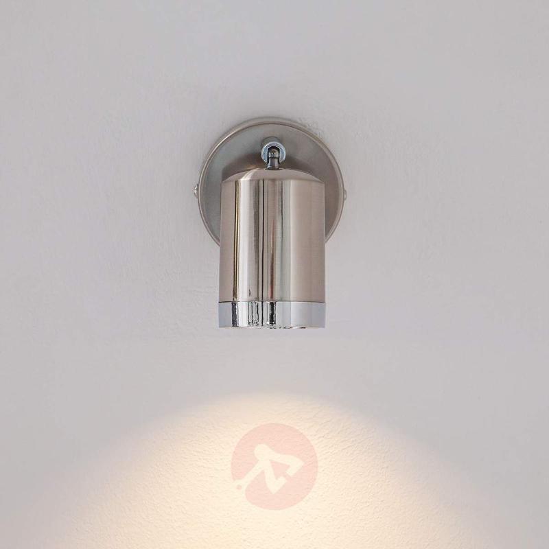 Modern Jarne LED spotlight, matt nickel - Ceiling Lights