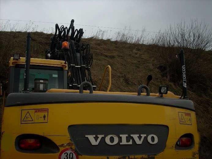 Excavators - Volvo EW 160