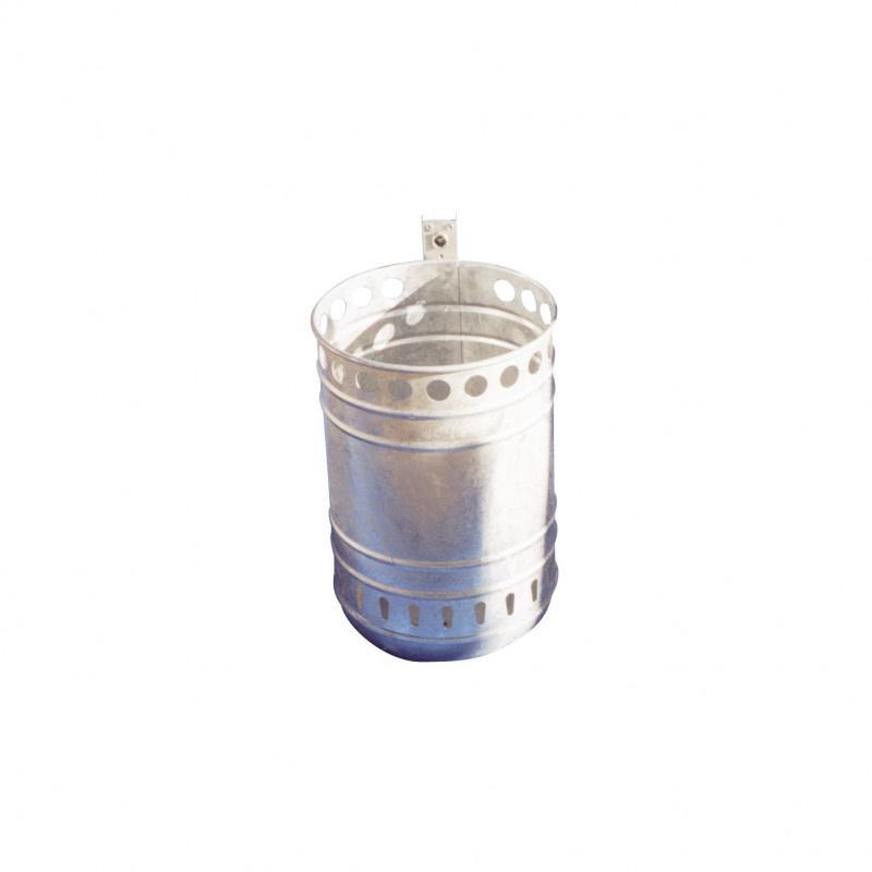 Abfallbehälter - Abfallbehäter zur Wand- oder Pfostenbefestigung