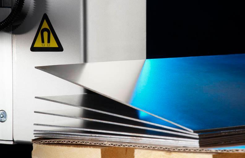 Séparateurs magnétique de plaques pour tolerie automobile -