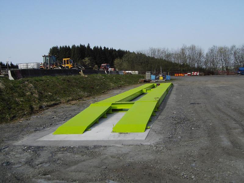 Weighing bridges - Trucks - Axle weighing, above-ground, demountable