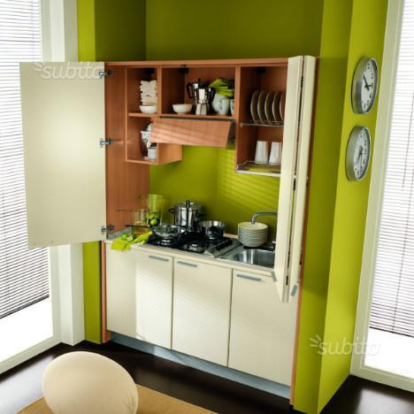 Cucina a scomparsa monoblocco , Cucina a scomparsa monoblocco 155 cm ...