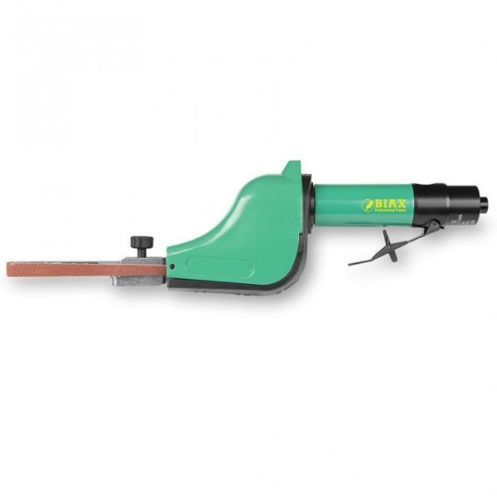 Ponceuse à bande - HB 12 S - La poignée peut être tournée à 360°. Pour les largeurs de bande de 6 et 12 mm