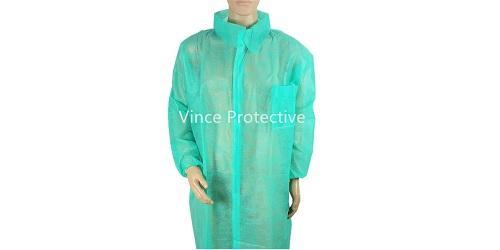 Лабораторный халат зеленый