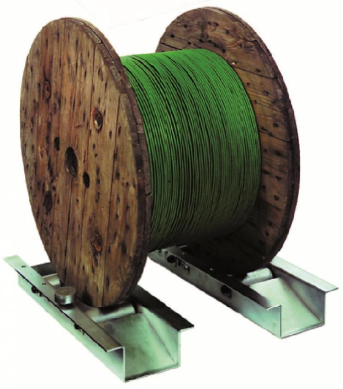 TROMBOI 1400 Trommelabwickler manuell - Abwickler für Trommeln bis Ø1800 mm und Trommelgewicht 1500 kg