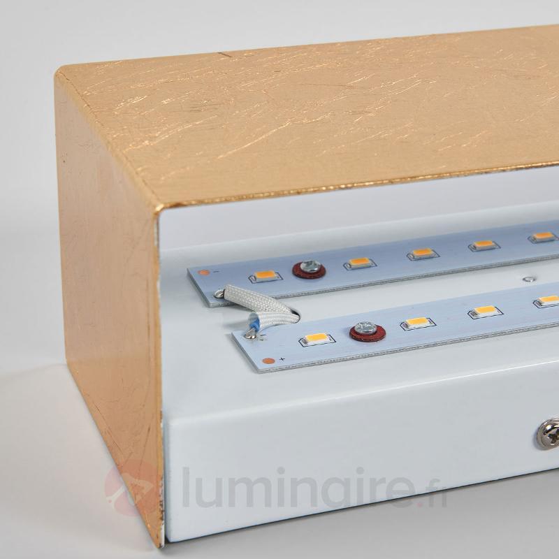Applique LED Kimberly en doré - Appliques LED