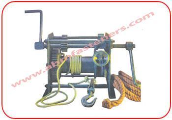 Crab Winch Hand Operated - Manual Winch Machine