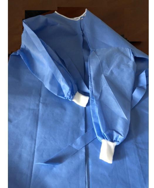 Camice chirurgico medico SMS usa e getta - Abito da ospedale chirurgico monouso SMS contro il covid-19