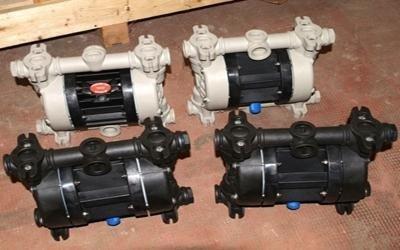 Progettazione e realizzazione pompe a membrana - Pompe per liquidi viscosi