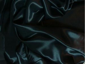 Doublure satin acétate 140 cm noir - null