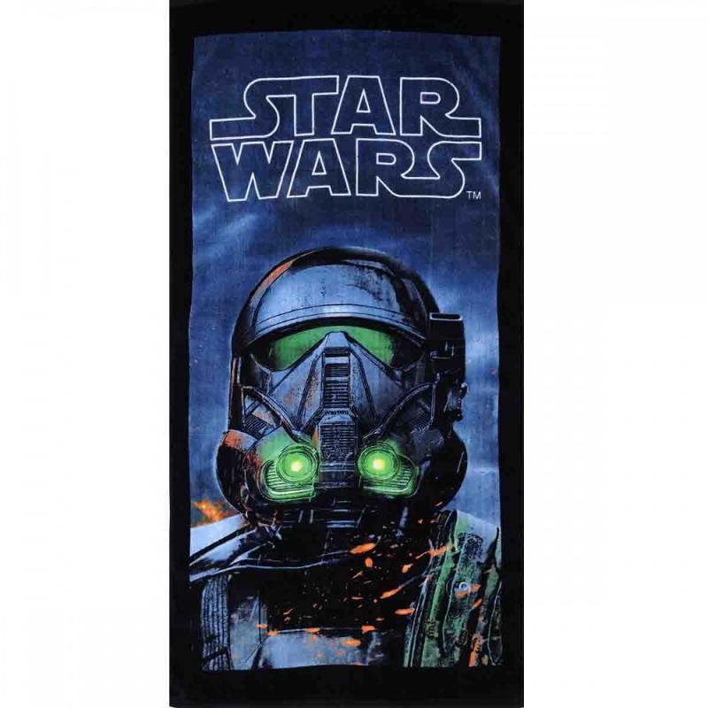 6x Serviettes de plage Star Wars 70x140 - Serviette