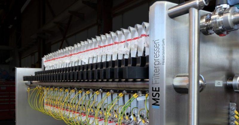 Filtre-presse ATEX - Le filtre-presse ATEX - Protection maximale contre les zones explosives