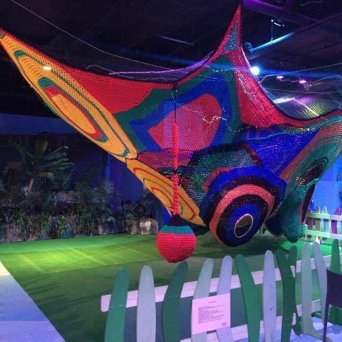Ropeland 7x7meters - Crochet playground for kids