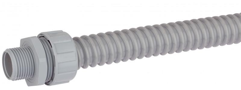 Tubo protector de plástico en espiral - Tubo protector de plástico en espiral con espiral de PVC duro y diseño diferente