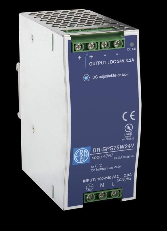 Gleichspannungsversorgungen - DR-SPS75W24V