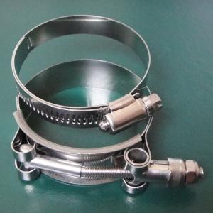 hose clamps - stainless steel clamps for silicone hoses.
