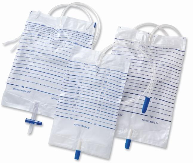 Urinsammelbeutel - Pädiatrisch; Beinbeutel; Bettseite