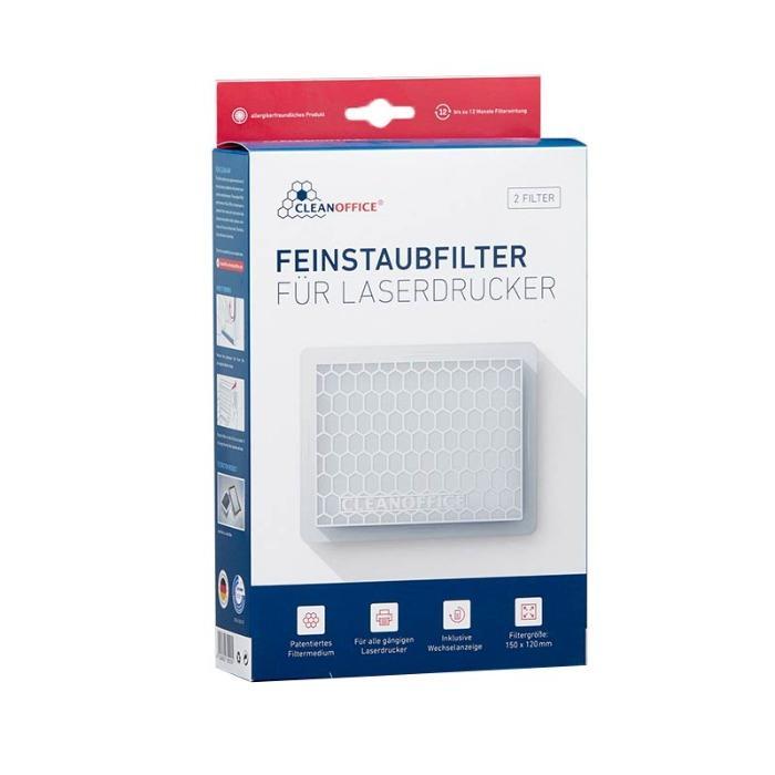 Filtro per polveri fini di Clean Office - Cleanoffice Filtro per polveri fini 16/800.20.50 bianco