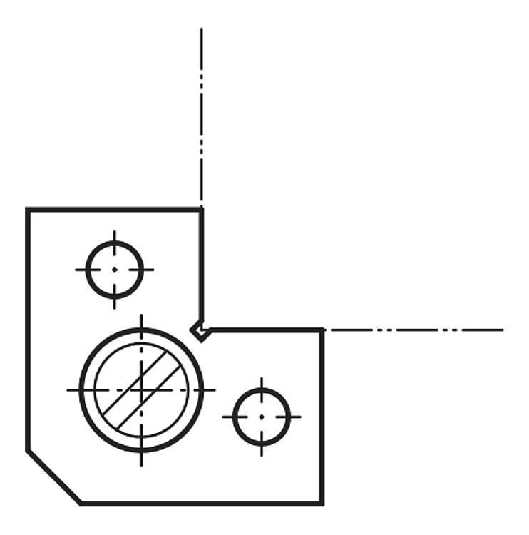 Drageoir - Cales parallèles, lardons goupilles cylindriques
